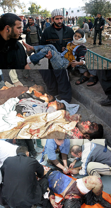کشتار در غزه