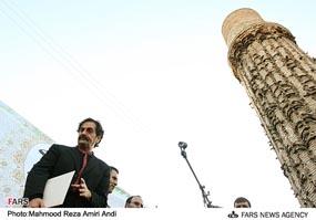 شهرام ناظری در کنگرهی شمس تبریزی در خوی به سال 1386